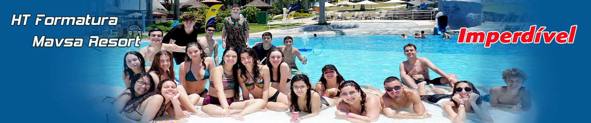 Viagem de Formatura Mavsa Resort