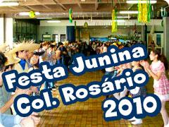 Festa Junina Col Rosário 2010